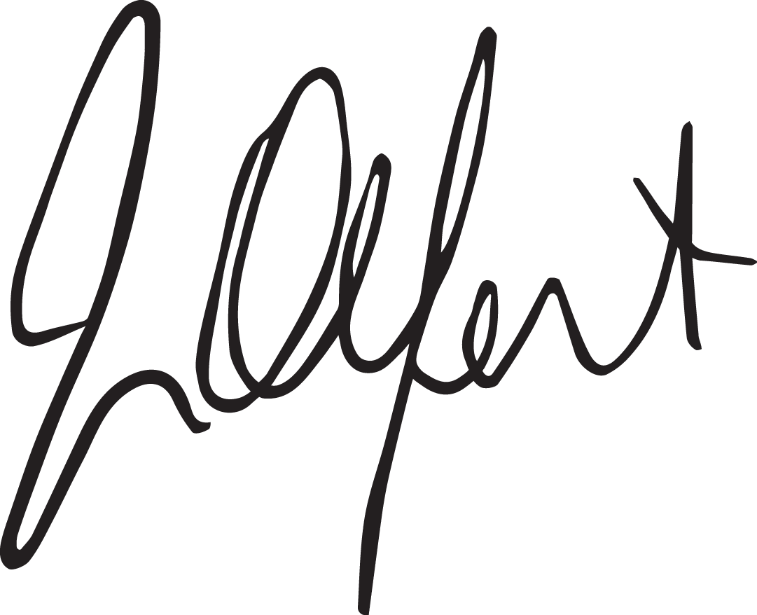 John Olfert's signature